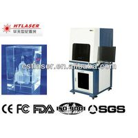 3D Laser Engraving Crystal and glass machine