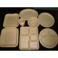 paper mould tabkeware(Wheat Straw Products)