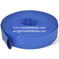 """50M 2"""" PVC Layflat Water Delivery Hose"""