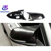 Carbon Fiber Mirror Cover For BMW F20 F22 F23 F30 F32 F33 F36 F87 M2 X1 2012+ thumbnail image