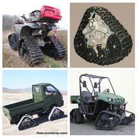Rubber track system for ATV UTV Construction Agricultural Snow Rubber Track System thumbnail image