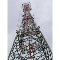 70m Square Self-Support Lattice Telecommunication Steel Tower