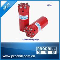 china manufacturer thread retrac drill button bit
