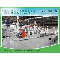 PVC Large Big Diameter Drainage Pipe Tube Production Extrusion Line Large Diameter Plastic Tube Extr