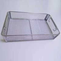 Stainless Steel Instruments Sterilized Basket