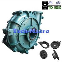 Good performance centrifugal slurry pump series AH(R) for paper and pulp industry