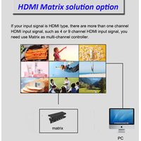 4K Controller Samsung Videowall 55 Inch 3x3 Mount Advertisement Display Splicing Screen Advertising thumbnail image