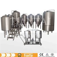 mini beer brewing equipment 3hl
