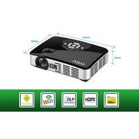 Dual core 1080P HDMI Home Theater Office Portable Mini Pocket HD Led Projector thumbnail image