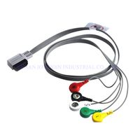 Compatible for HP Digitrak XT Holter ECG Cable with 5 leadwires thumbnail image