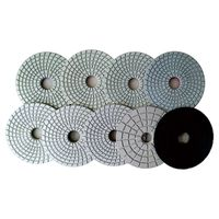 4inch Diamond resin wet flexible polishing pads