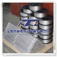 Titanium wires Gr1 Gr2 Gr7 Gr12 Titanium welding wire Titanium disc wire/Straight wire ASTMB863