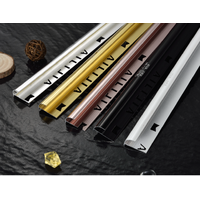 AILIJIA shinny tile trim aluminum profile trim edge protect