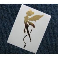 Lovely Fairy Temporary Metallic Tattoo Sticker