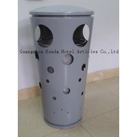 China produce high quality round shape garbage bin,trash can,public waste bin,dustbin Kunda GPX-333