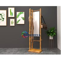 Electric bathroom radiator, with attachable head lamp, wireless control, auto-working thumbnail image