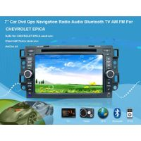 "7"" Car Dvd Gps Navigation Radio Audio Bluetooth TV AM FM Vehicle Navigation For CHEVROLET EPICA"