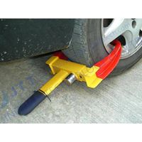 Wheel clamp, tire clamp,  wheel lock, wheel boot, Parking boot, Denver boot. parking Device, Car saf