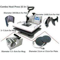 CE 6-1 Digital combo heat press machine 29*38cm thumbnail image