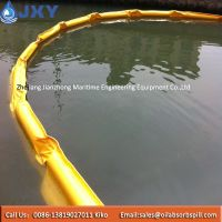 PVC Floating Oil Boom For Containing Oil Spill On The Sea