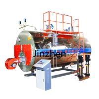Low Cost Wns Horizontal Oil Gas Fuel Small Steam Boilers for brick processing