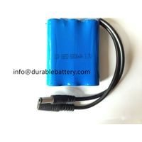 OEM 3s1p rechargeable 18650 3.7v 6000mah battery for curing light