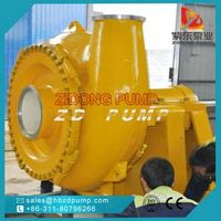 horizontal centrifugal wear resistant sand pump