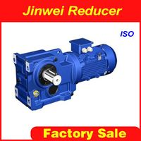 K series helical spiral bevel reducer gearbox thumbnail image