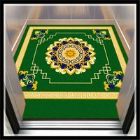 Customized Anti-slip Elevator Advertising Floor Mat Rubber mat Welcome mat