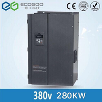 3 phase 380V 280KW Frequency inverter/frequency converter/ac drive/AC motor drive