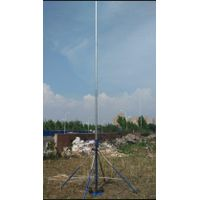 3--18m Portable Telescopic Aerial Photography Mast System, endzone Camera Telescopic Mast
