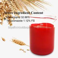 Imidacloprid 32.88%+Tebuconazole 1.12% FC