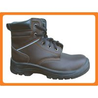 embossed leather safety shoes300510