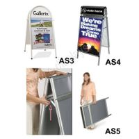 double-side poster frame;poster stand;poster frame stand thumbnail image