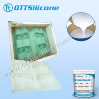 Shoe soles silicone rubber