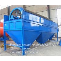 Rotary drum screen for sand grading
