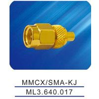 MMCX/SMA-KJ adaptor