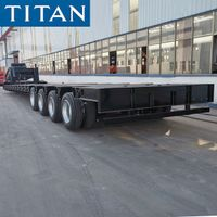 4 Axle 100 Ton Removable Gooseneck Lowboy Trailer for Sale in Chile thumbnail image