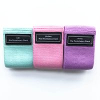 Elastic Fabric Booty Bands Hip Circles for Bodybuilding Shape Workout thumbnail image