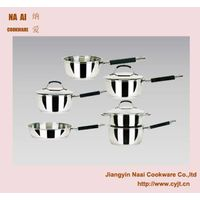 Stainless Steel Compound Bottom Single Handle Pot