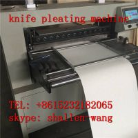 1100-55mm HVAC G4 air filter pleating machine