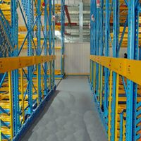 Pallet shelving racking storage systems with industry