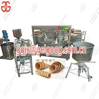 Commercial Ice Cream Cones Making Machine Line On Sale