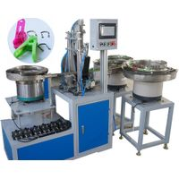 clothes peg assembly machine, clamp assembly machine