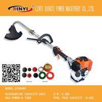 shoulder gasoline engine prunning tools brush cutter