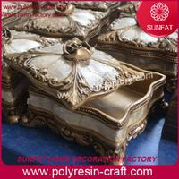 Luxury home decoration, handmade resin coral ornament, interior decorations thumbnail image