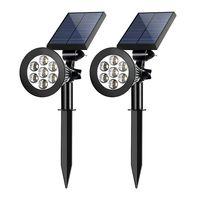 2W solar LED lawn light garden light 7 LED thumbnail image