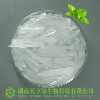 89-78-1 CAS No. and 99.9% Purity pharmaceutical grade menthol crystal thumbnail image