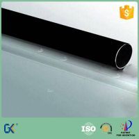 Black chrome plated stainless steel pipe for parabolic trough solar collector