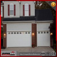 sectional white box garage door  panel